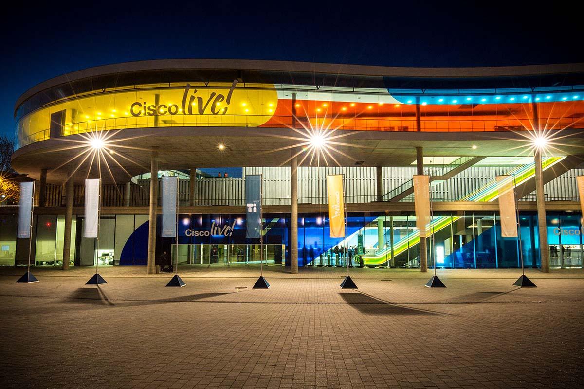 The Fira Congress was the host venue for CISCO Live 2018 in Barcelona